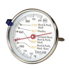Taylor Bathroom Scales Customer Service by Taylor Meat Thermometer 5939n Cooking Thermometers Ace Hardware