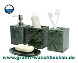 bad accessoire naturstein bad accessoires set waschbecken