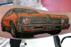 Muscle Car Tattoo