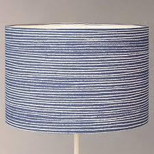 Lamp Shade Adapter Ring John Lewis by New John Lewis Coastal Cleystripe Lamp Shade Blue White Stripe