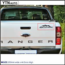 100 Custom Window Decals For Trucks Car Stickers 1pc Mountain Off Road 4x4 Car Wimdon Tail Gate