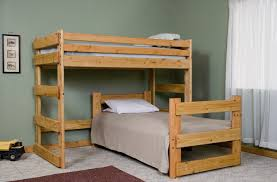 diy bunk bed plans twin over full friendly woodworking projects