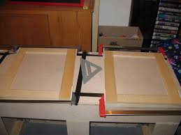 Thermofoil Cabinet Doors Vs Laminate by Repairing Mdf Cabinet Doors U2014 Decor Trends How To Finish Mdf