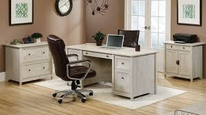 Sauder Heritage Hill 65 Executive Desk by Modern Cottage Furniture Collection Edge Water Living Room