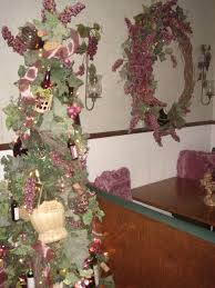 Seashell Christmas Tree by Wine Themed Christmas Tree Pictures Wine Theme Christmas Tree