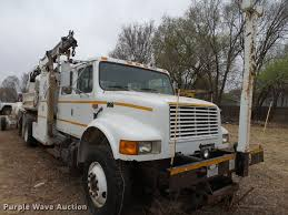 100 Railroad Truck 1996 International 4900 Crew Cab Railroad Service Truck With