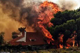 Drones Hunt Criminal Arsonists In Greece Forest Fires