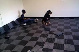 grid loc tiles snap together garage floor tiles