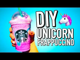 DIY STARBUCKS UNICORN FRAPPUCCINO How To Make Your Own Unicorn