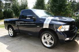 Amazon.com: 2009 2010 2011 2012 2013 Dodge Ram R/T LONG Hash Mark ...