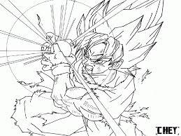 Goku Super Saiyan 3 Coloring Pages Coloriage Vegeta Sayen 2 Plus R