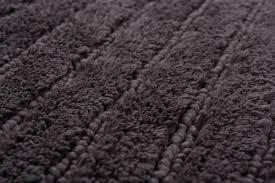tom tailor badteppich cotton stripes anthrazit 601