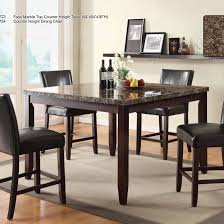 Outstanding 5 Piece Pub Table Set White Black C Target Full ...
