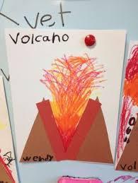 Alphabet Letter Craft V is for Volcano