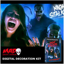 Halloween Ghost Projector by Halloween Digital Decorations Projector Kit Atmosfearfx Night