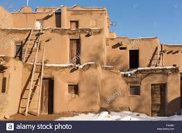 Pictures Of Adobe Houses by Ancient Adobe Homes In The Ancient American Taos Pueblo