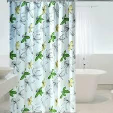stoff duschbad vorhänge 3d blumen bedruckt badezimmer