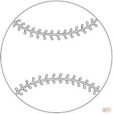 Baseball Bat Coloring Page And Ball Free Printable Pages Download