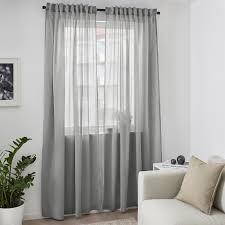 hilja 2 gardinenschals grau 145x300 cm