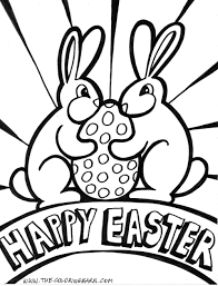 Download Coloring Pages Easter Page Happy Archives For Preschool