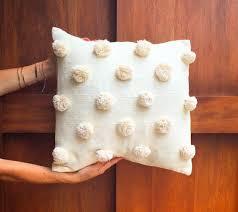 Crudo Pom Pom Pillow – Luna Zorro