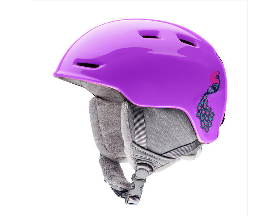 Smith - Zoom Jr Helmet - Small - Purple Peacocks