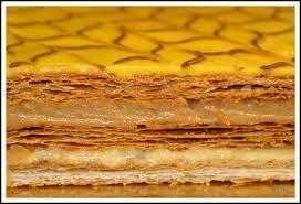 pate feuillete pour mille feuille millefeuille caramel citron pagaïe sors de la cuisine