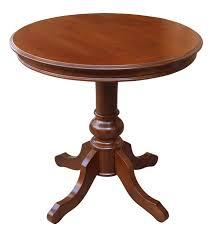 rundtisch 80 cm runder tisch aus holz mit holzplatte und fußen klassischer tisch rund made in italy neu 80 x h 79 cm tisch esszimmer