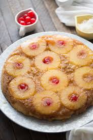 Pina Colada Upside Down Cake LemonsforLulu