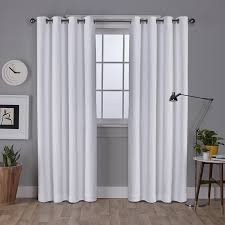 Sunbrella Curtains With Grommets by Highland Dunes Champine Solid Blackout Outdoor Grommet Curtain