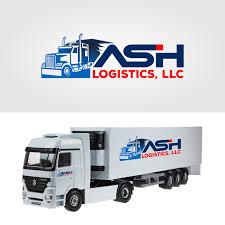 100 Royal Trucking Company Professional Masculine Logo Design For ASH