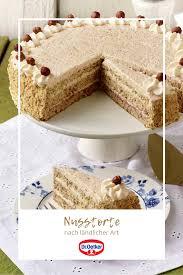 nusstorte nach ländlicher rezept leckere torten