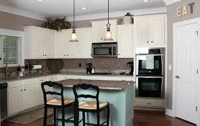 Full Image Kitchen Colors With White Cabinets And Stainless Appliances Brown Wooden Cabinet On The Floor