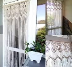 Macrame curtain room divider door curtain retro wall hanging
