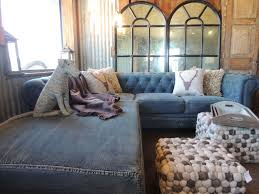 Vintage Indigo Studio Day Sofa Slipcover the latest trends in denim clothing and design denim couch