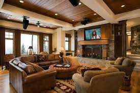 Rustic Living Room Furniture Sets Country