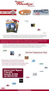 100 Dedicated Truck Driving Jobs Nationaltruckin Magazine Online Job