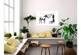 poster banksy washing zebra poster