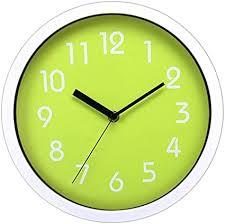 bestopps digital wanduhr mit silent nicht leise fegen sekunden für home küche wohnzimmer 25 4 cm dekorative wanduhr digital grün