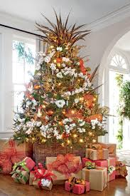 Elegant Rustic Christmas Tree Decoration Ideas 01