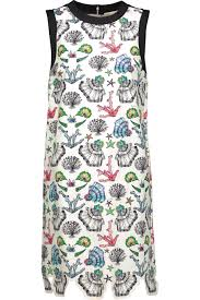 printed stretch cotton dress emilio pucci us the outnet