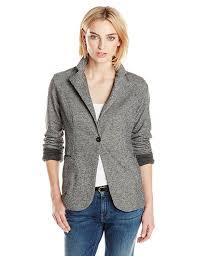 jet john eshaya women u0027s sweatshirt blazer charcoal medium large