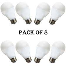 k lite energy saving bulb 60 watt 2 pk packs 8 bulbs warm white ebay