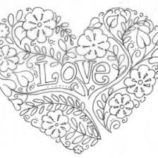 Printable Love Coloring Pages Me