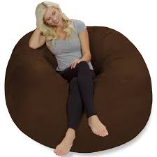 Chill Sack 5 Ft Bean Bag Chair, Multiple Colors/Fabrics ...