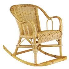 siege en rotin fauteuil enfant rocking chair la vannerie d aujourd hui