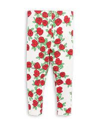 mini rodini rose legging white kids fashion mintimoon