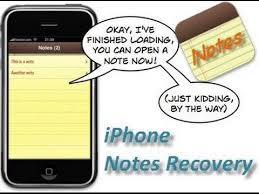 How to recover deleted notes on iPhone 5S 5C 5 and iPhone 4S 4