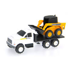 100 John Deere Toy Trucks S DieCast Truck With Skidsteer At Stop