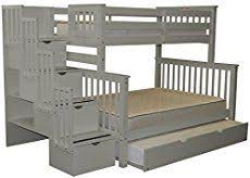 ana white classic bunk beds re imagined with stairs diy